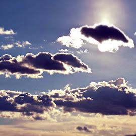 Over Rijeka by Žaklina Šupica - Landscapes Cloud Formations