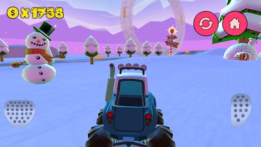 Cartoon Cars Driving - screenshot