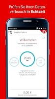 Screenshot of MeinVodafone