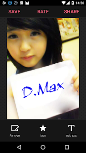 Fansign Photo Generator - screenshot