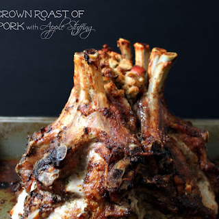 National Crown Roast of Pork Day | Crown Roast with Apple Stuffing