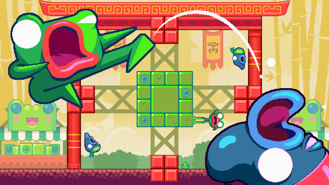 Green Ninja: Year of the Frog Screenshot 1