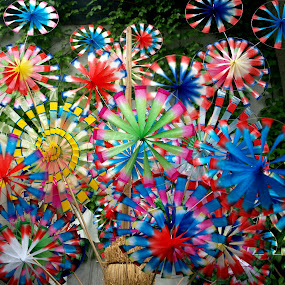 Windy by Jakub Juszyński - Artistic Objects Other Objects ( wind, toy, color, souvenir, twist, air, fun, china )