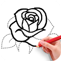 App How To Draw Flowers apk for kindle fire