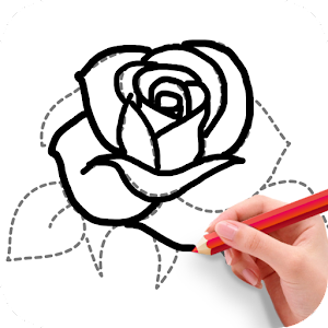 How to draw flowers android apps on google play for How do i draw a flower