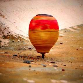 Spinning Top by Brijesh Shivashankar - Artistic Objects Toys