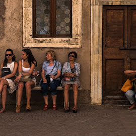 Photographer by Cristian Oprescu - People Professional People ( five, street, photographer, women, people )
