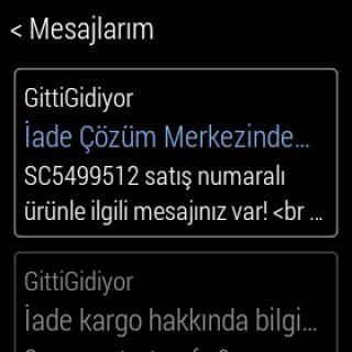 GittiGidiyor screenshot 10