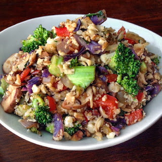 "Vegetable Fried ""Rice"""