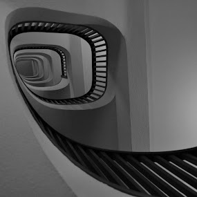 Shell of Stairs by Keri Stephenson - Abstract Fine Art (  )