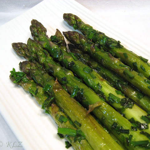 Sautéed Asparagus with Chives