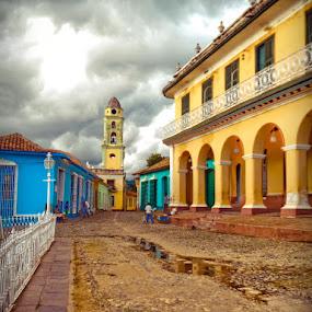 by Leire Unzueta - City,  Street & Park  Street Scenes