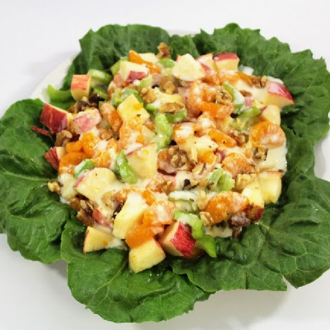 Mandarin Orange & Apple Salad