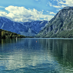 Bohinj lake by Marko Dragović - Landscapes Waterscapes ( slovenia, lake, bohinj )