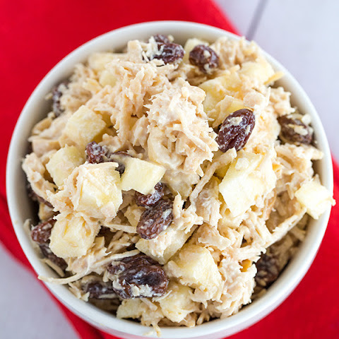 Chicken Salad with Apple, Raisins & Walnuts