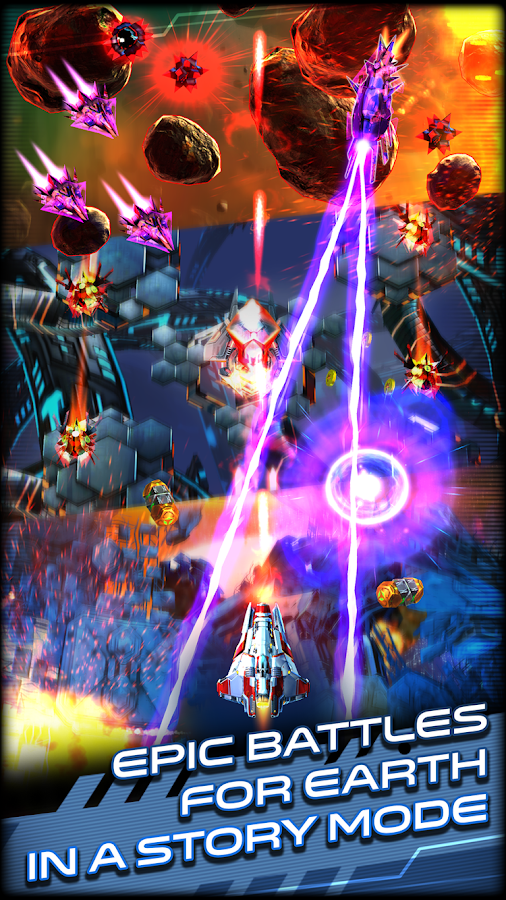 Space Warrior: The Origin Screenshot 0
