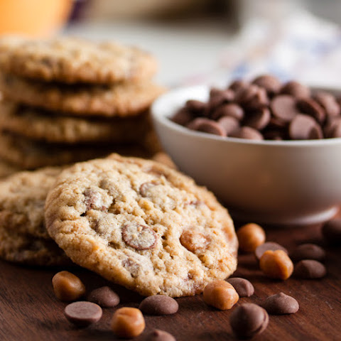 Chocolate Caramel Ginger Cookies Recipe | Yummly