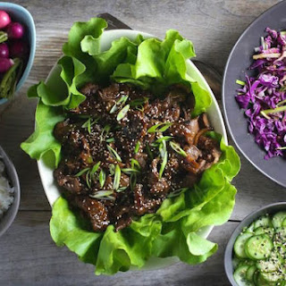 Korean Bulgogi Lettuce Wraps
