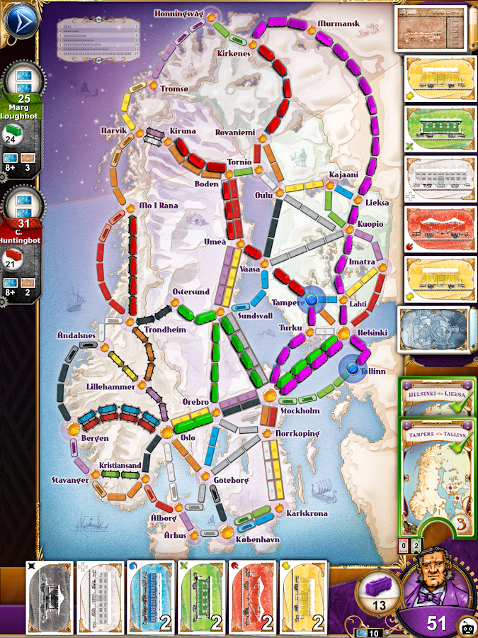 Ticket to Ride Screenshot 12