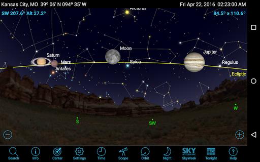 SkySafari 5 Plus - screenshot