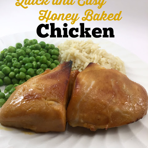 Quick Baked Honey Chicken