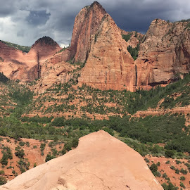 Kolob Canyon Zion National Park by Stephen Terakami - Novices Only Landscapes