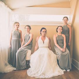 The Ladies by Ivan Johnson - Wedding Bride