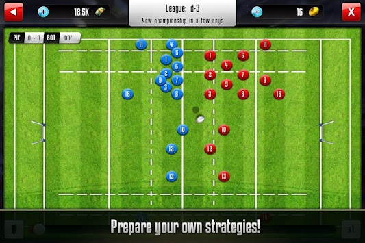 Rugby Manager APK screenshot thumbnail 3