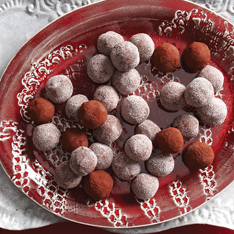Chocolate-Chile Truffles