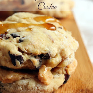 Choc Chip Peanut Butter Cookies for One
