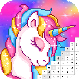 Pixel Art: Coloring Book Draw Doodle Arts Game For PC (Windows & MAC)