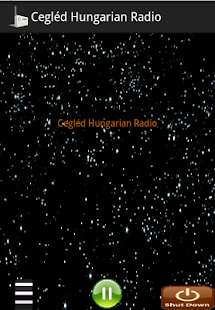 Player Cegléd Hungarian Radio - screenshot