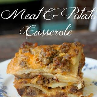 Ground Meat Potato Casserole Recipes