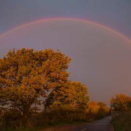 Over the Rainbow by Andrew Richards - Landscapes Weather