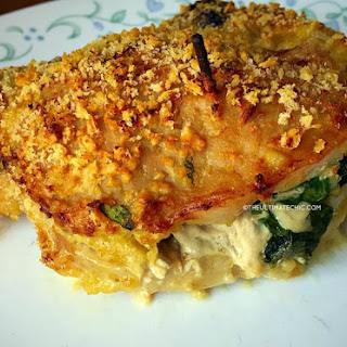 Pork Chops Stuffed with Spinach