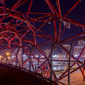 Columbus Alive by Sean Miller - Buildings & Architecture Bridges & Suspended Structures
