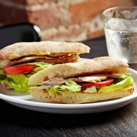 Diet Sandwich With Chicken Breast