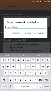 Midwest Compliance Symposium - screenshot