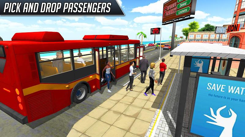 Bus Simulator 2018: City Driving Screenshot 0