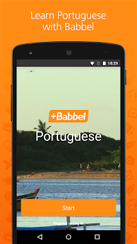 Learn Portuguese With Babbel APK screenshot thumbnail 1