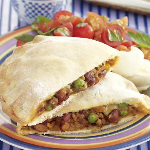 Beef and Bean Calzone