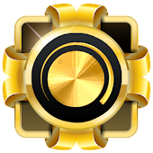 Gold Volume Booster & Music Player