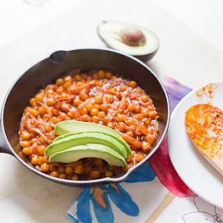 Spiced Chickpeas with Harissa and Tamarind