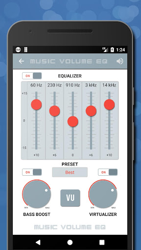 Music Volume EQ - Sound Bass Booster & Equalizer screenshot 4