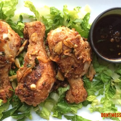 Paleo Chinese Salt and Pepper Chicken