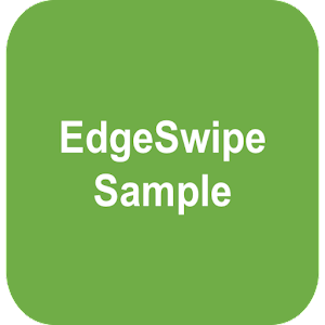 Download EdgeSwipe Sample For PC Windows and Mac