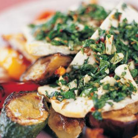 Chermoula Tofu And Roasted Vegetables