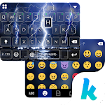 Lighting Storm Kika Keyboard 45.0 Apk