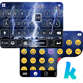 Lighting Storm Kika Keyboard Icon