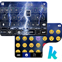 Lighting Storm Kika Keyboard For PC (Windows And Mac)